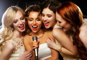hen party karaoke
