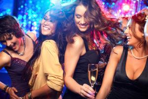 hen party nightclubbing