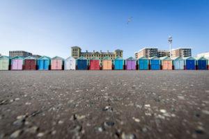 Beach huts Brighton